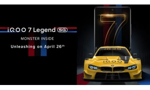 iQOO 7 Legend and iQOO 7 launching in India on April 26 with 6.62-inch FHD+ AMOLED 120Hz display, Snapdragon 888 SoC