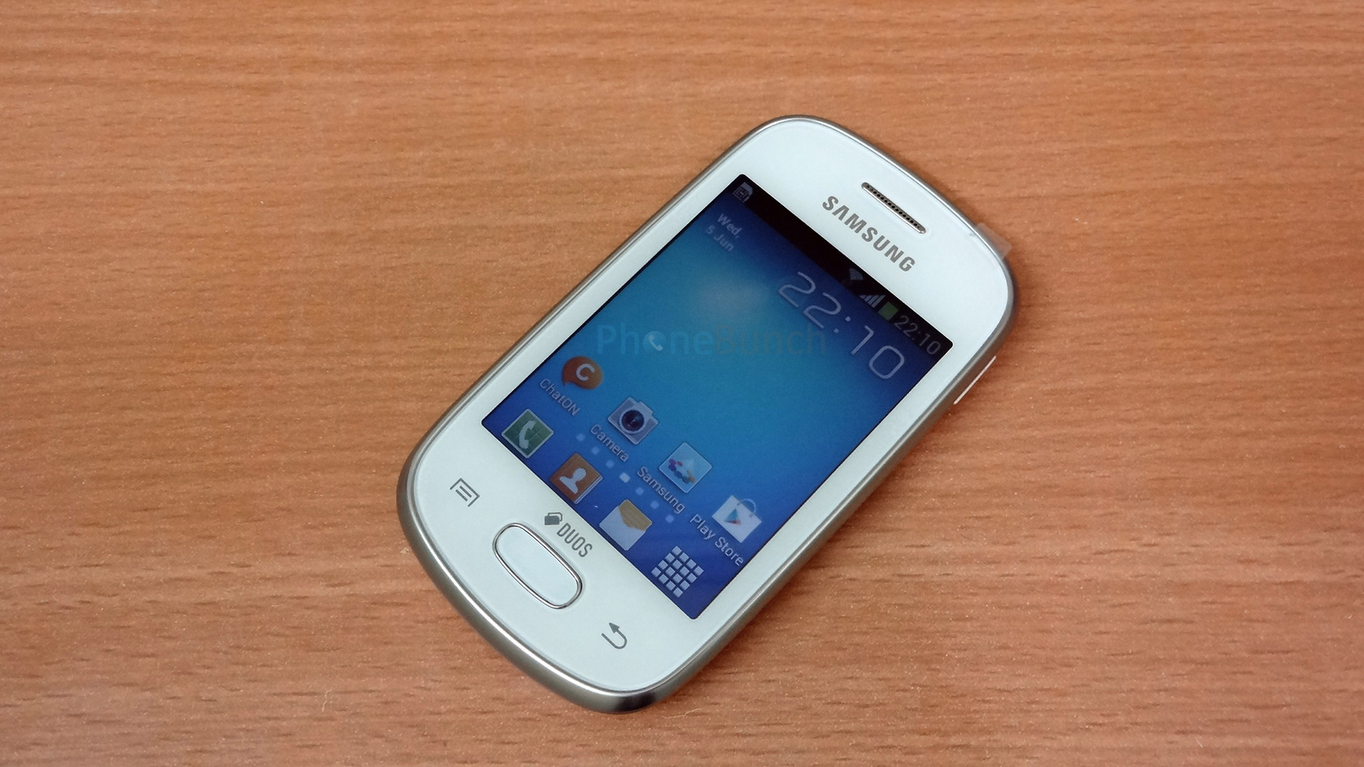 Samsung Galaxy Star S5282 Menu - Pics about space