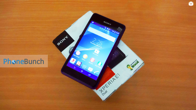 Sony Xperia E1 Dual Unboxing and Hands-on